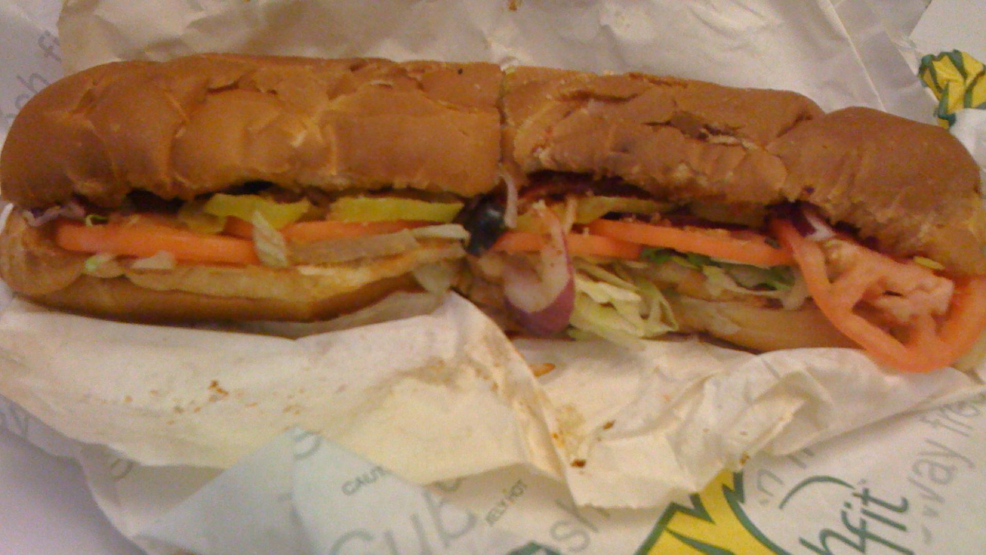 Another Lifeless Subway Sandwich